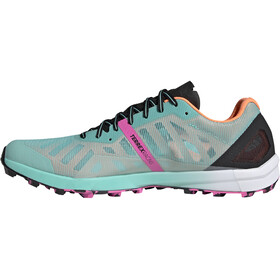 adidas TERREX Speed Pro Trail Running Shoes Men acid mint/core black/screaming pink